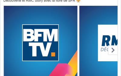 «Suivez BFM TV avec la Fibre SFR» : comment SFR profite de la situation de Free pour faire sa promotion