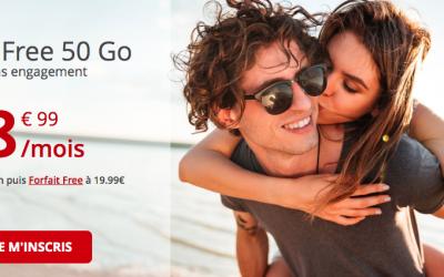 Le forfait Free 50 Go à 8.99€ expire dans quelques heures