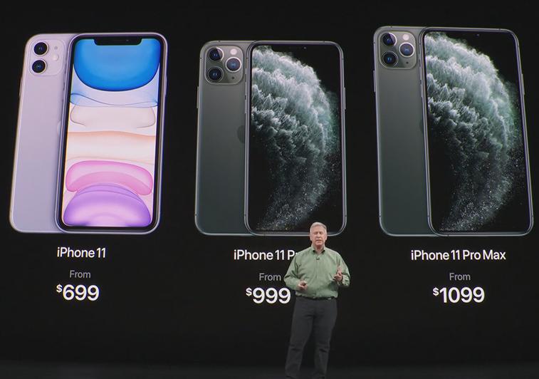 Des prix iPhone 11 différents selon la game