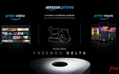 Amazon Prime désormais inclus dans la Freebox Delta