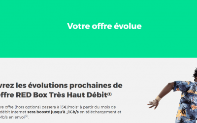 Augmentation de 3€ de certains clients RED Box, sans possibilité de refus