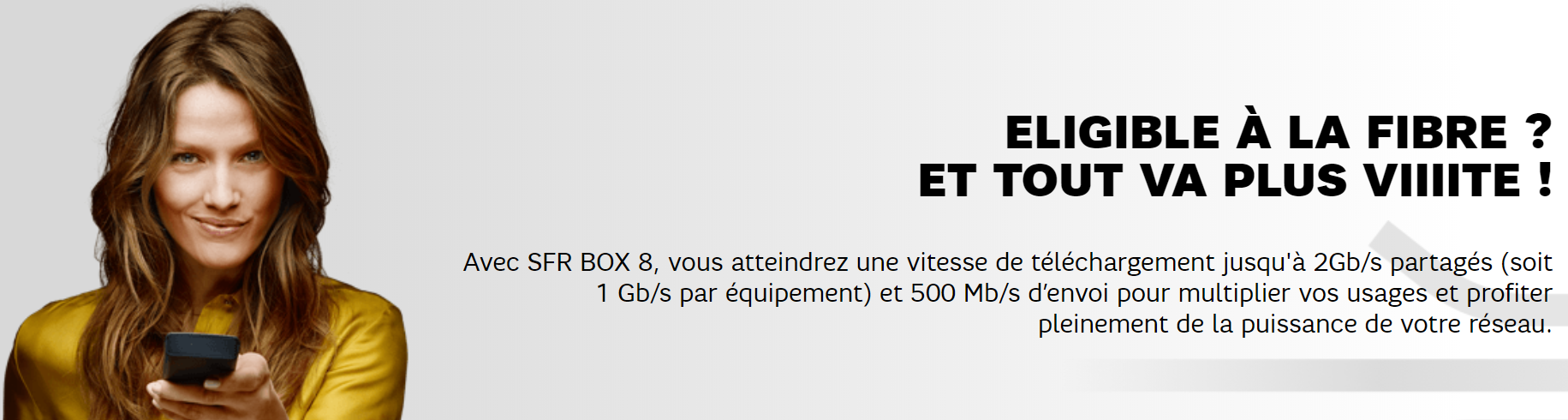 SFR Box 8 Fibre 2 Gb/s