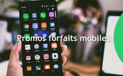 Promo forfait mobile : 3 offres exceptionnelles à ne surtout pas louper