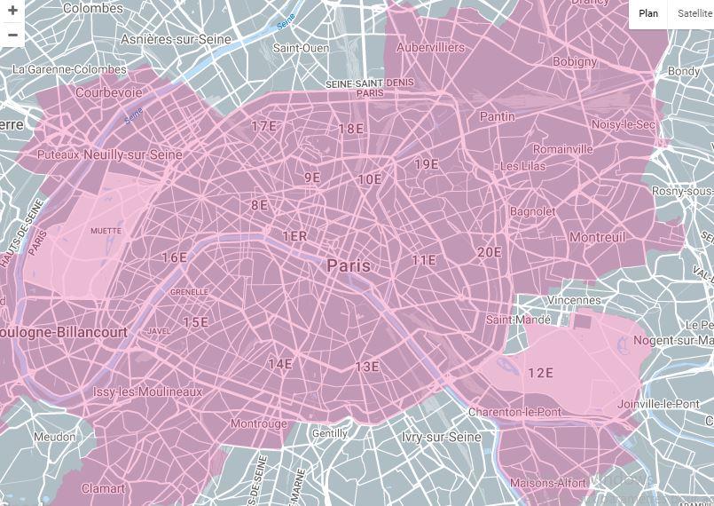 La fibre optique à Paris (75) : couverture, éligibilité, offres, services