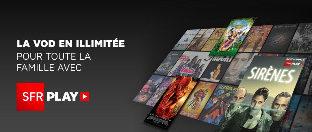 SFR Play est disponible pour les utilisateurs d'Android TV