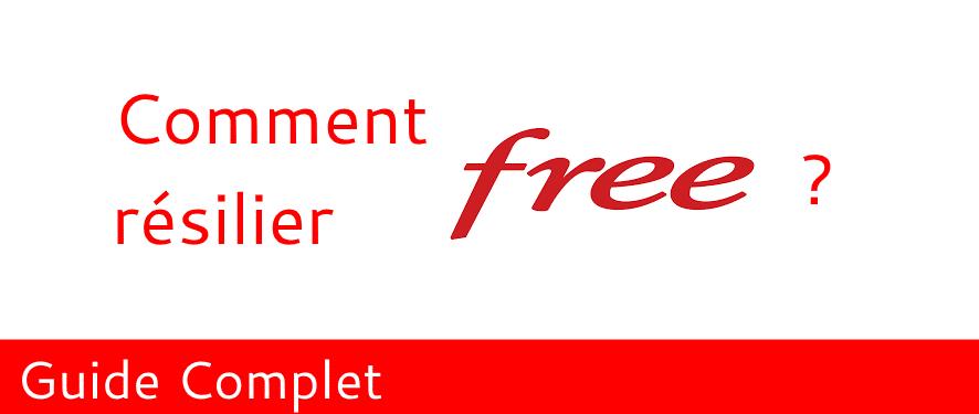 Comment résilier Free facilement et rapidement ?