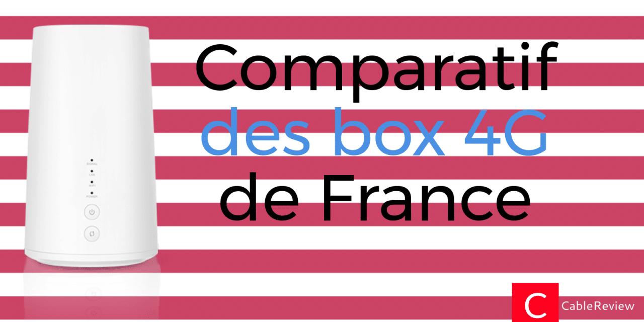 Comparatif des box 4G : 4G Box de Bouygues, 4G Home d'Orange… notre avis !