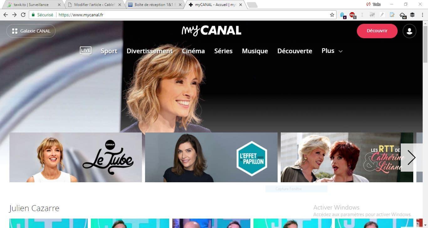 Start by Canal : MyCanal