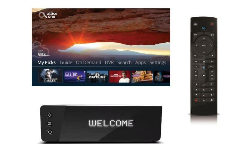 """Altice lance """"Altice One"""" : la box 4K de SFR aux Etats Unis"""
