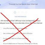 SFR crée de faux comparateurs d'offres pour mettre en avant ses abonnements