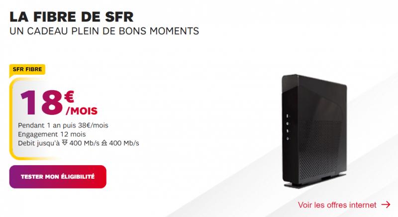 Fibre SFR popup