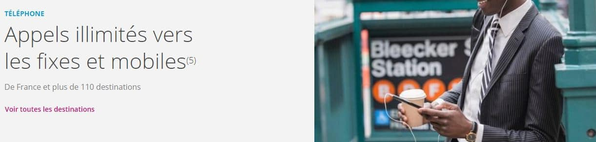 Promos box : téléphonie Bbox Must