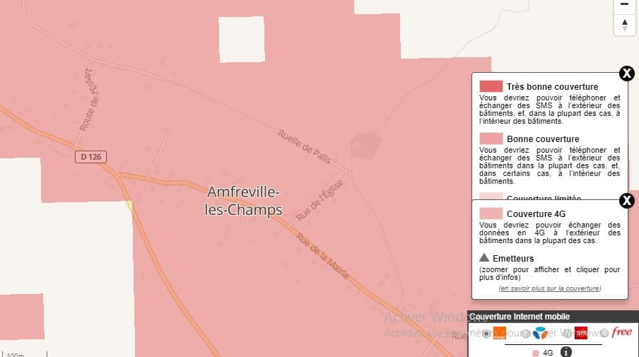 4G Box : couverture Orange à Amfreville