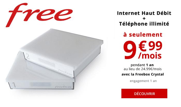 Ventes privées Freebox : Freebox Crystal