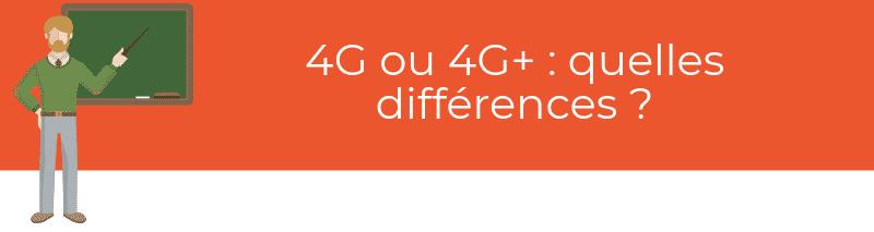 4G ou 4G+ : quelles différences ?