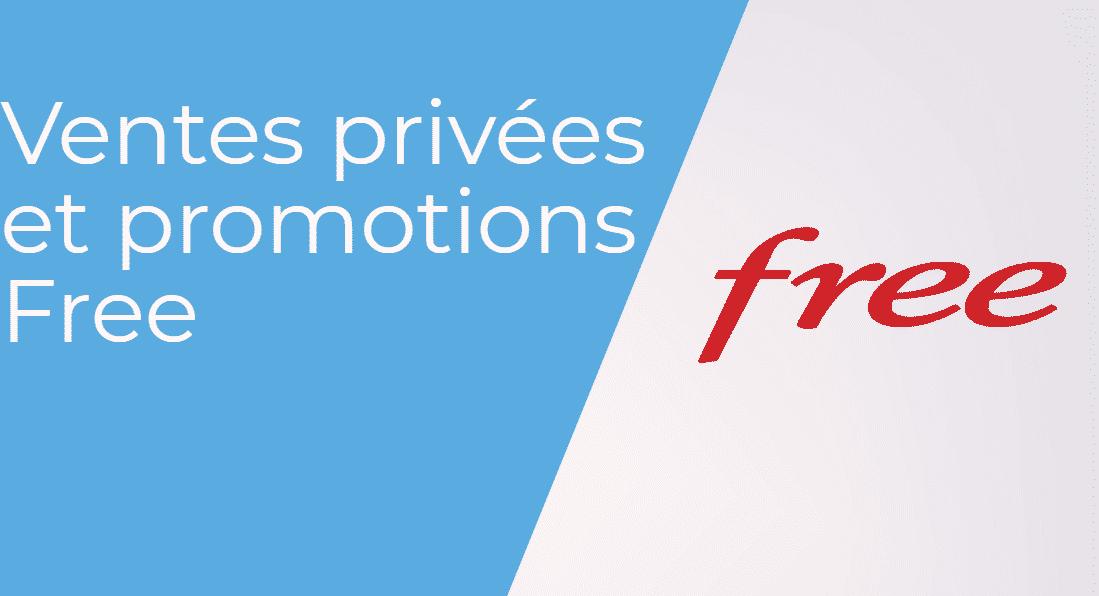 Les ventes privées Freebox 2019