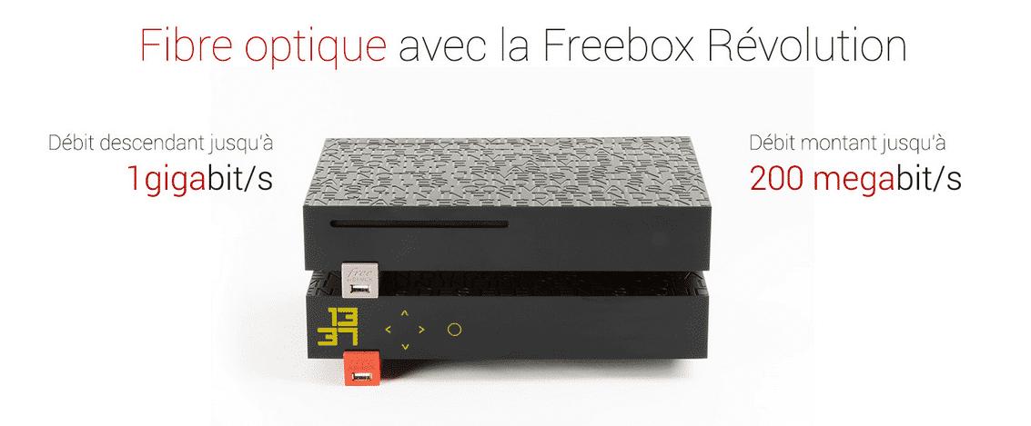 Ventes privées Freebox : fibre optique
