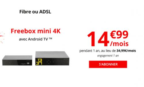 Promotion Freebox Mini 4K