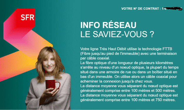 """Les clients box câble de SFR peuvent résilier leur contrat sans frais pour """"manque d'informations"""""""