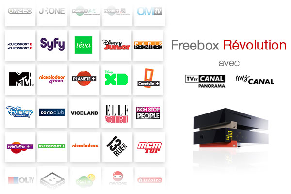 Freebox Révolution TV by Canal