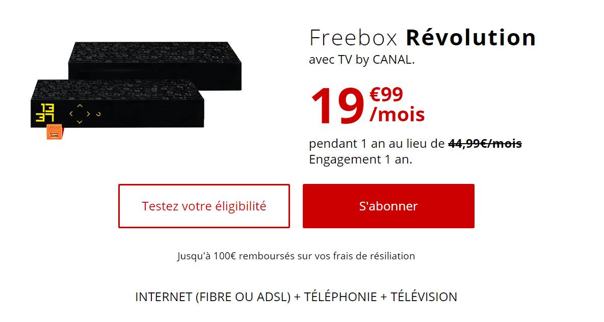 offre freebox révolution