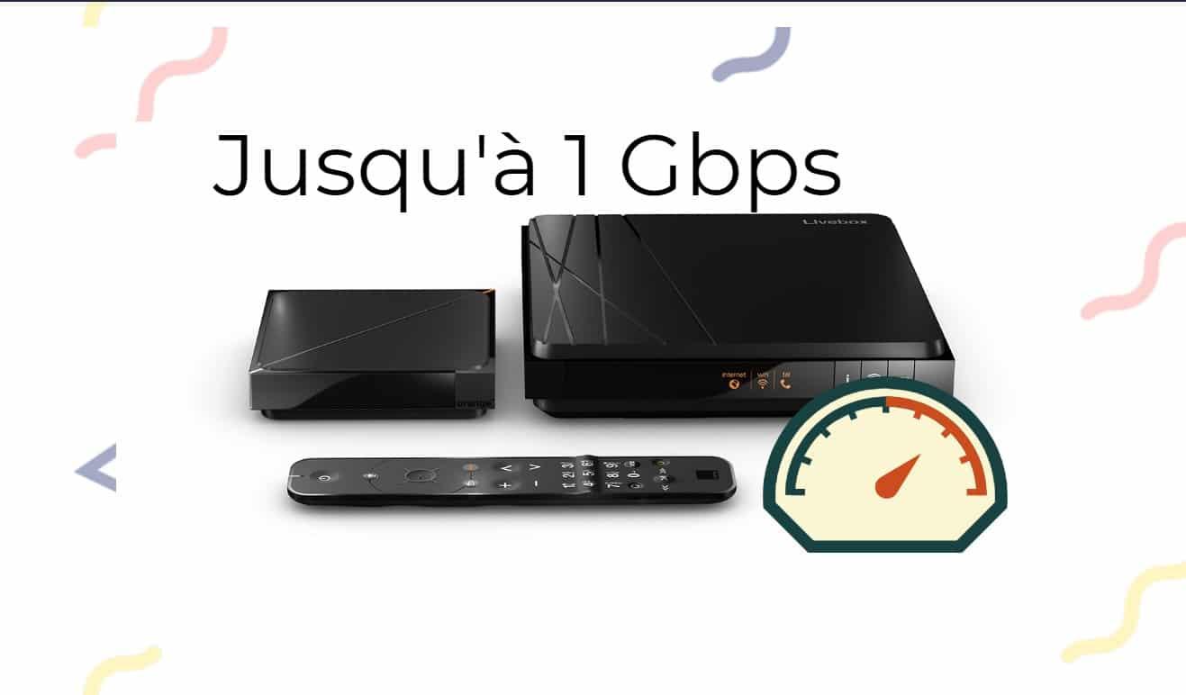 Livebox 4 débits Fibre