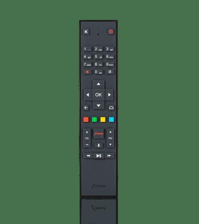 Télécommande vocale Freebox Mini 4K