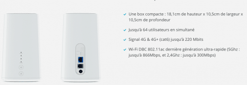 Utiliser le réseau 4G de votre téléphone pour surfer chez vous !
