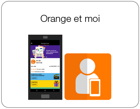 Résiliation Orange avec l'application Orange et moi