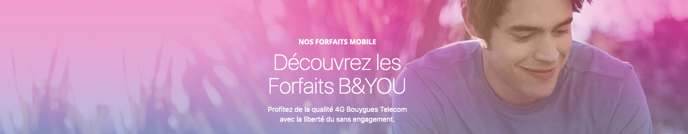 Les forfaits Sensation et B&You de Bouygues, des codes promos à regarder de plus près