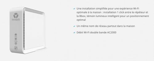 Le répéteur WiFi, un indispensable dans les ventes privées de Bouygues