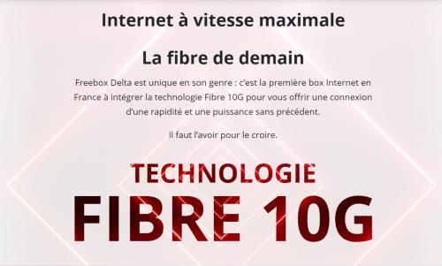 Freebox Delta Fibre 10G