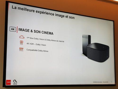 Dolby Atmos avec la SFR Box 8