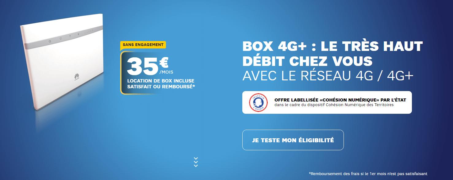 Promo Box 4G SFR