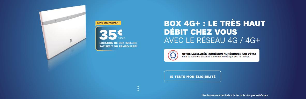 Box 4G de SFR : rapidement indispensable