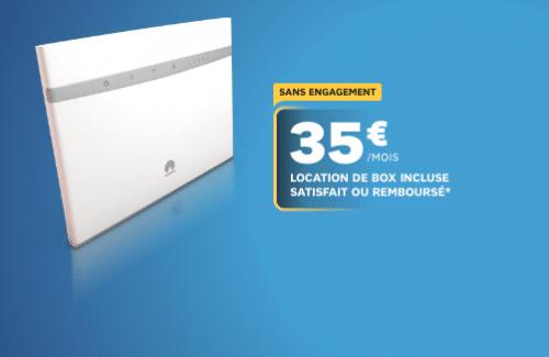 Box SFR 4g+ de qualité
