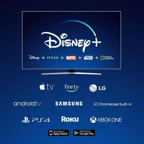 Disney+ appareils compatibles
