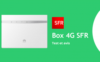 Box 4G SFR : avis et test 2021