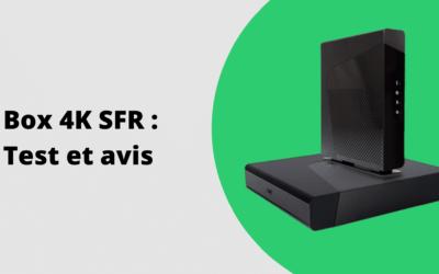 Box 4K SFR : offres, test et avis 2020
