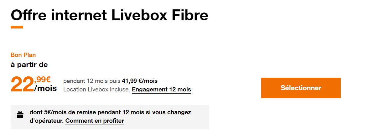 livebox fibre