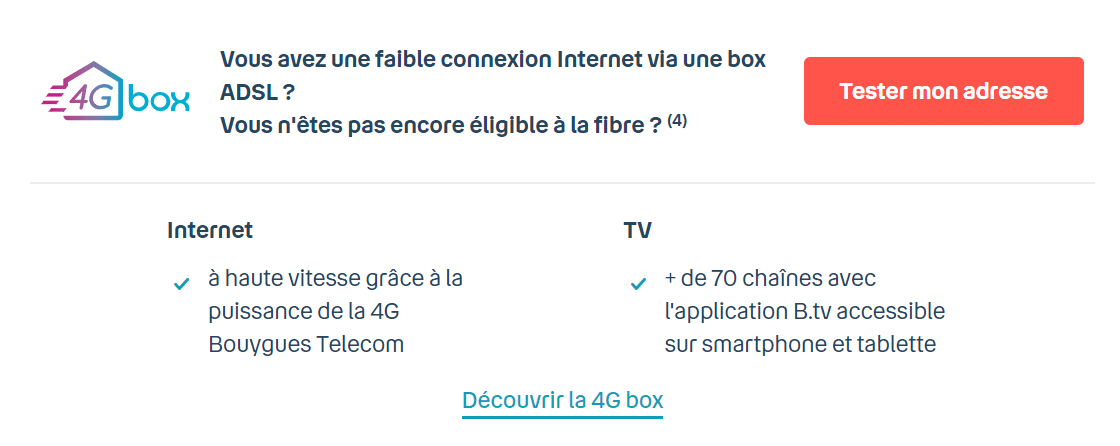 offre 4G Box Bouygues
