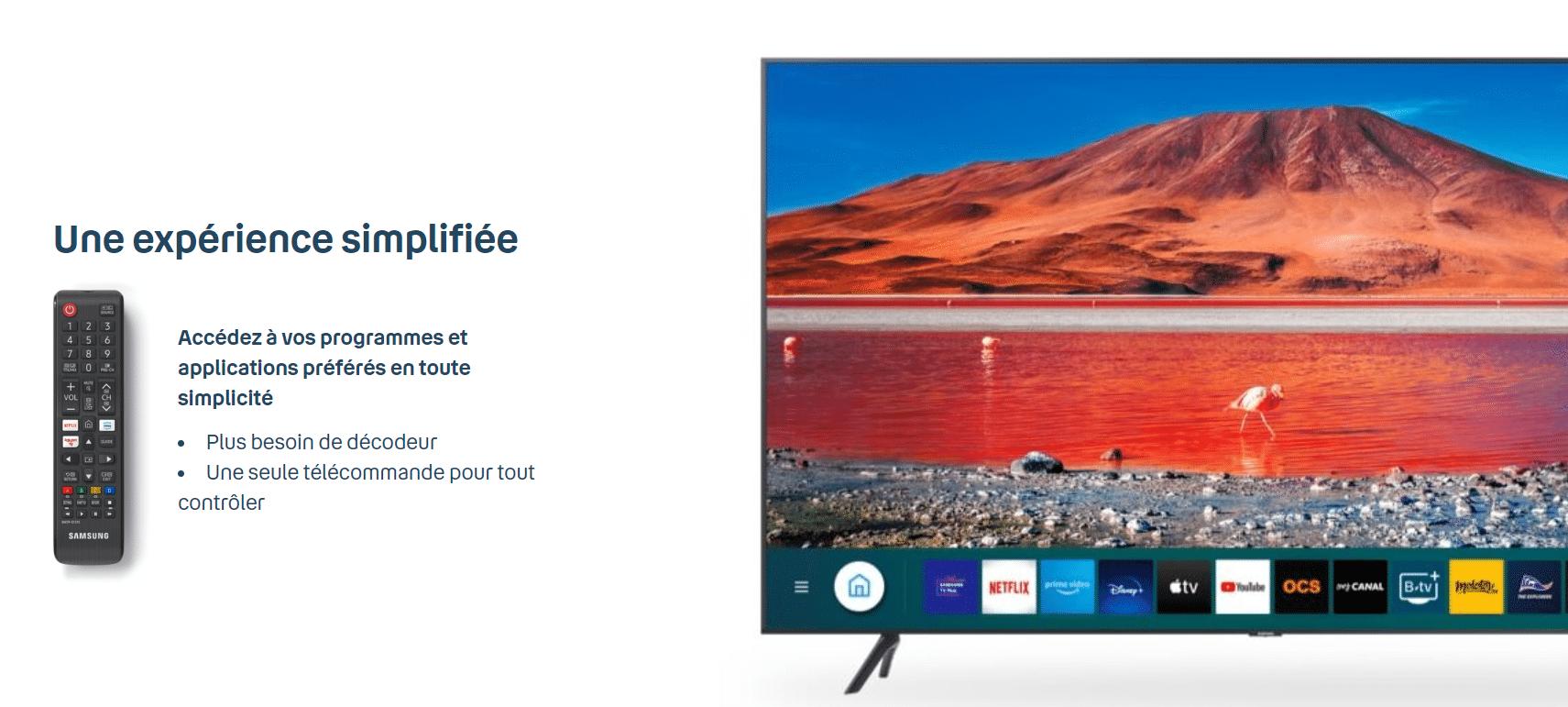 Expérience Bbox Smart TV