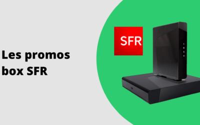 Promo box SFR : les bons plans ADSL et fibre en juillet 2020