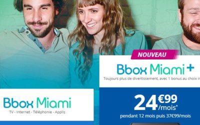 Bouygues Télécom lance la Bbox Miami +