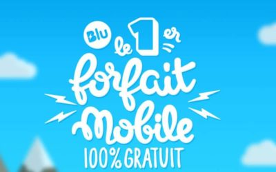 Blu, le forfait mobile 100% gratuit, est officiellement disponible