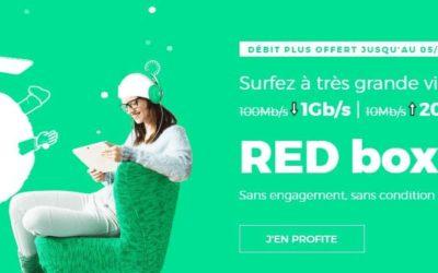 1 Gbps pour 15€/mois : l'offre à vie de Red by SFR se termine ce soir