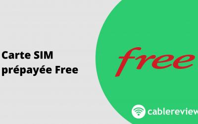 Carte SIM prépayée Free : un forfait Free pendant 1 mois