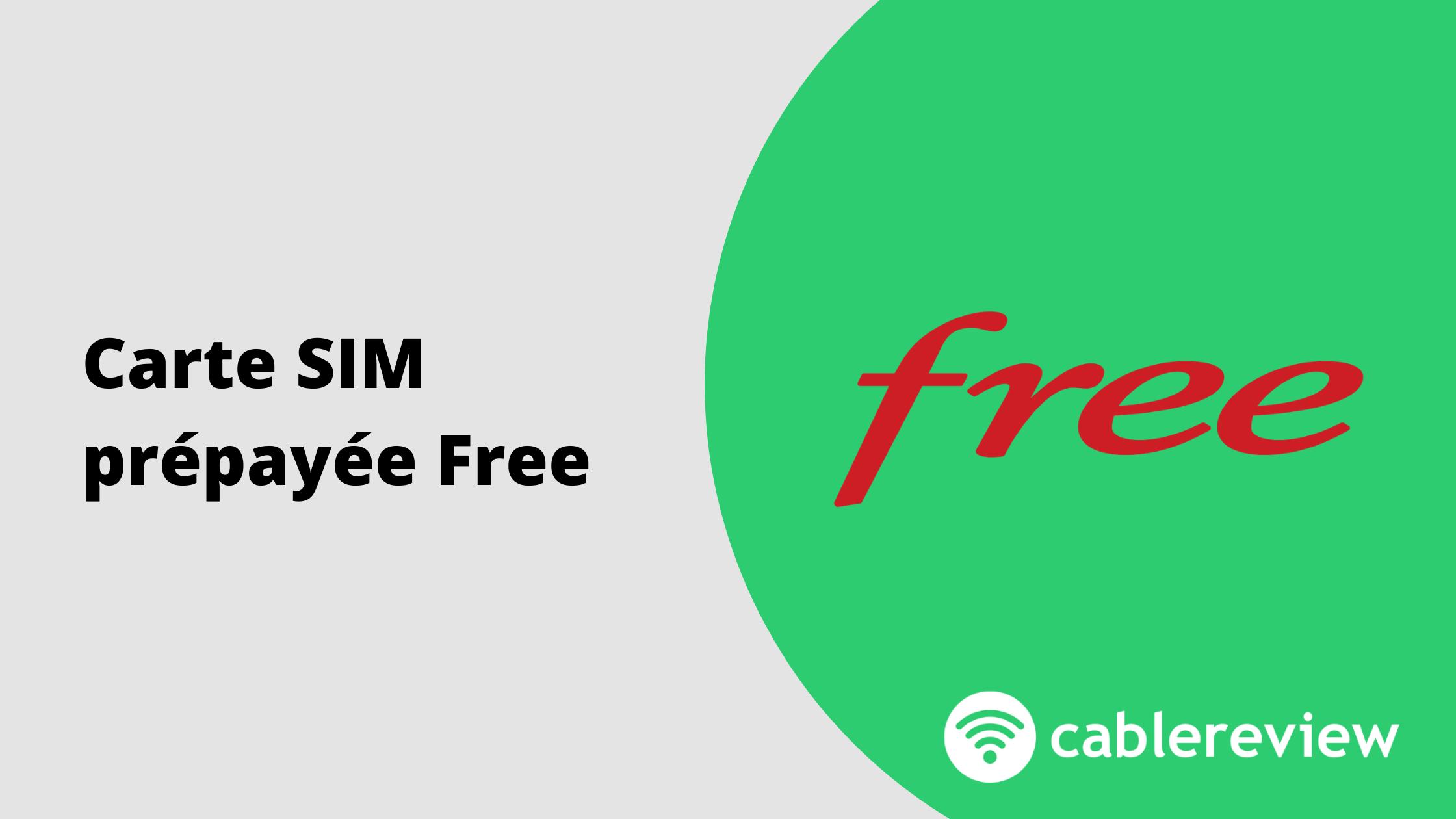 Carte SIM prépayée Free