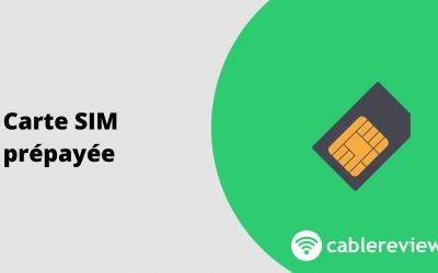 Carte SIM prépayée : le comparatif des offres