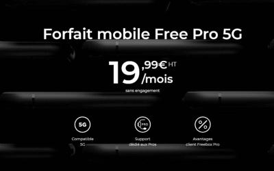 Free Mobile Pro : Un forfait 5G pour professionnels